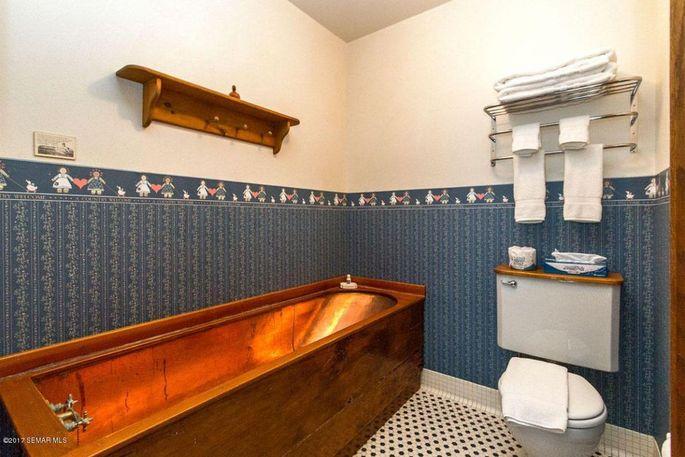 One of the B&B's baths