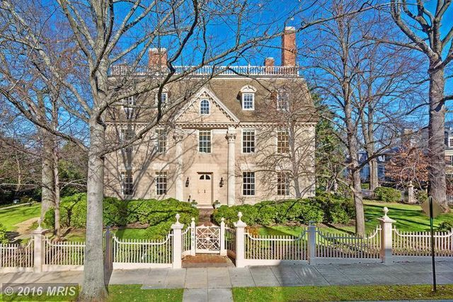 The oldest mansion in DC