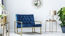 In the Navy: Dark Blue Is the 'Now' Neutral in Home Decor