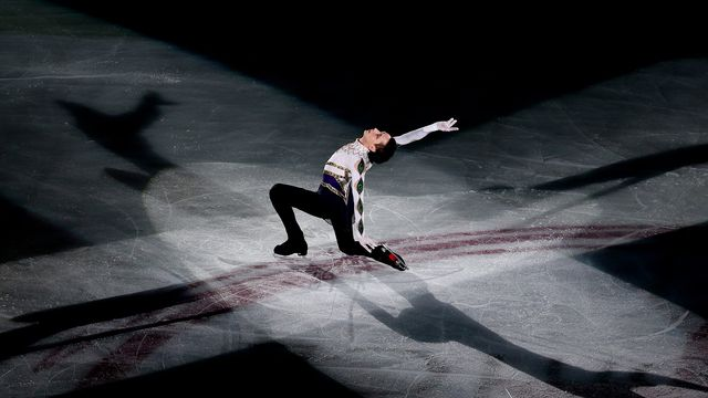 Figure Skater Johnny Weir performs during Artistry On Ice 2014 at MasterCard Center on July 25, 2014 in Beijing, China.