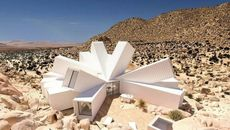 It's Not a Mirage! Spectacular Starburst House Waits to Bloom in the Desert