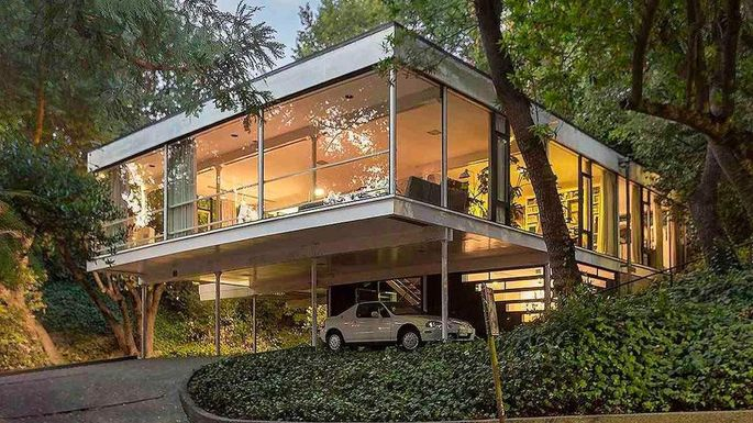 $1.8M Mid-Century Modern Glass House in Berkeley Is a Must-See ...