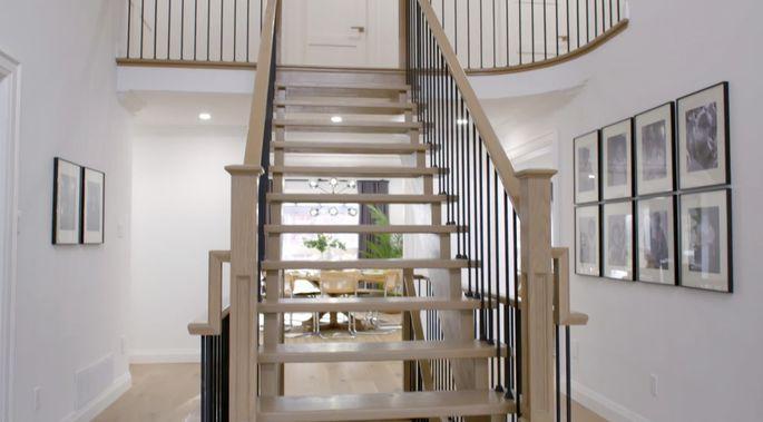 Cet escalier a été amélioré!