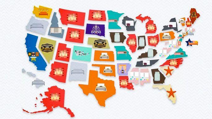 2019年每个州的室内设计风格是什么