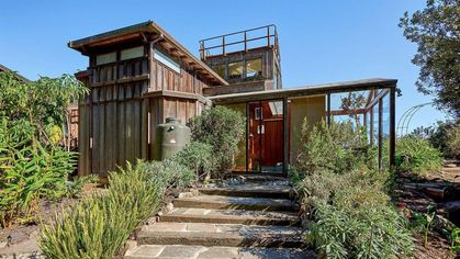 Inventive and Intriguing Bolinas Estate With Secret Doors Reveals Itself for $5.5M