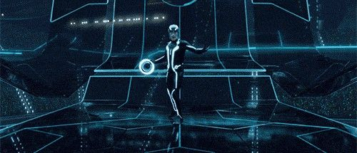 Ooh, so Tron!