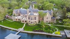 Custom-Built Castle in Kansas City Reigns Over the Waterfront