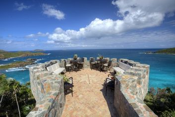 Mermaid's Chair Mansion in Virgin Islands: St Thomas' Private Paradise