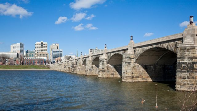 Market St. bridge in Harrisburg, PA