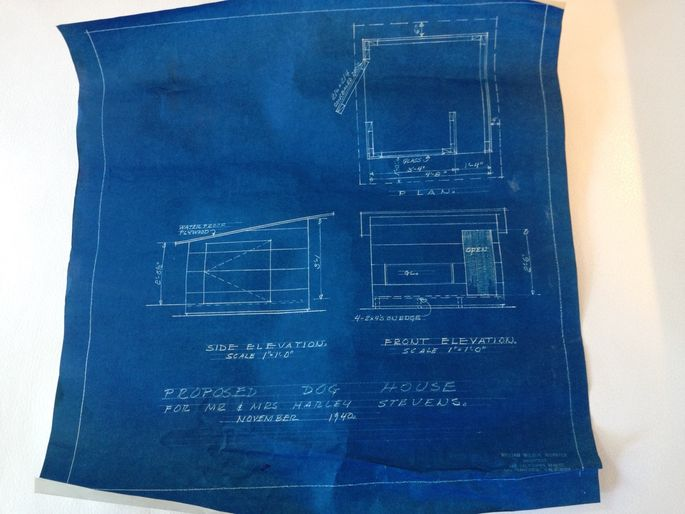 Blueprint for the doghouse