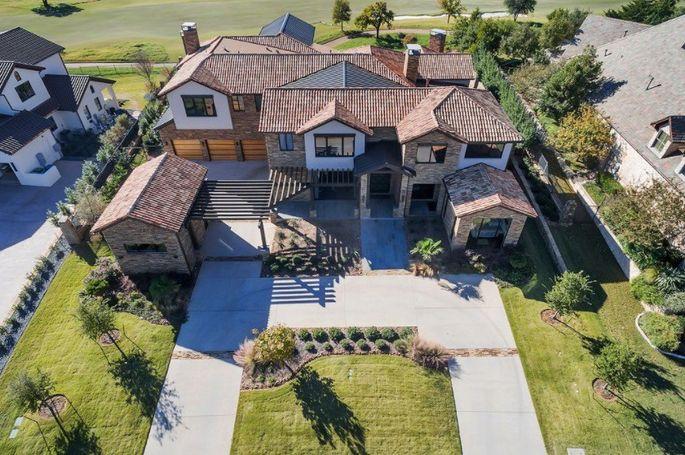 Patrick Mahomes' Westlake, TX, home