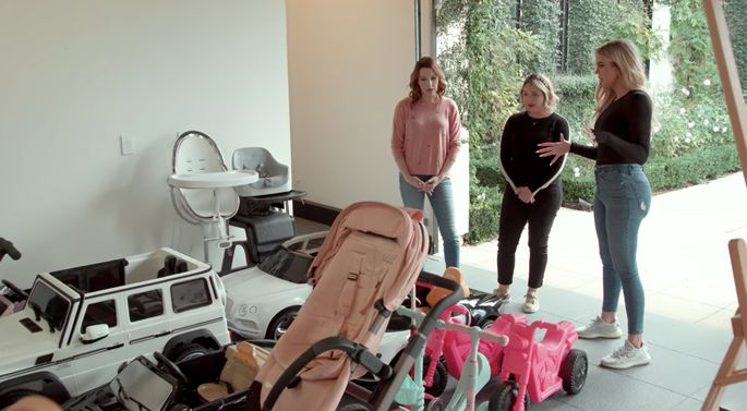 Kardashian wants to know how to organize her daughter's toys.