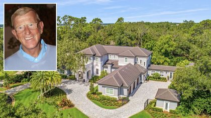 Legendary Football Coach Lou Holtz Selling $4.5M Mansion in Orlando