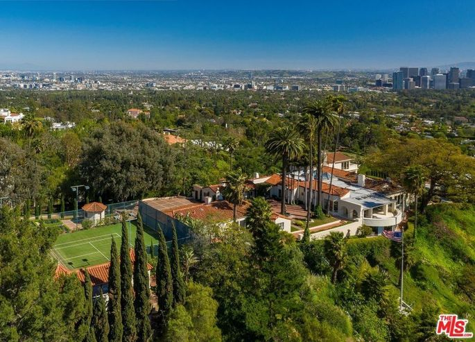 Beverly Hills, CA, estate