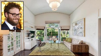 Seth Rogen Selling His Spanish-Style Hollywood Bungalow for $2,125,000