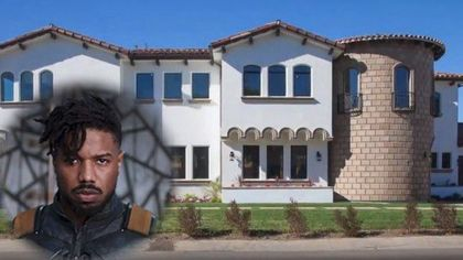 Check Out the Crib 'Black Panther' Star Michael B. Jordan Shares With His Parents