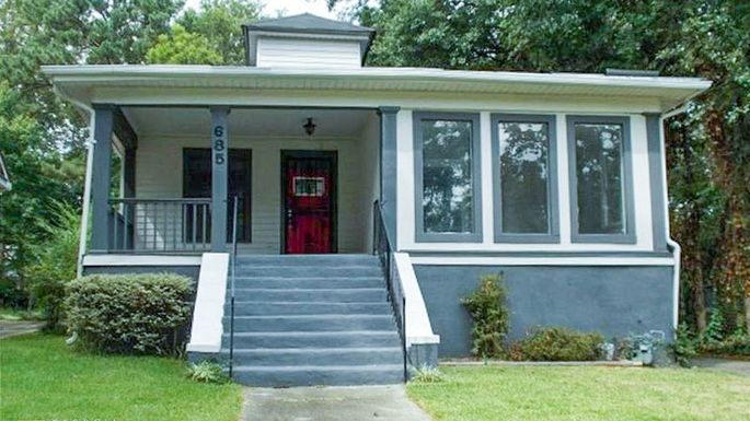 Home in Adair Park listed for nearly four times its 2014 price.