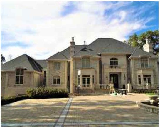 Exterior of Ben Roethlisberger's mansion in Sewickley Heights, PA