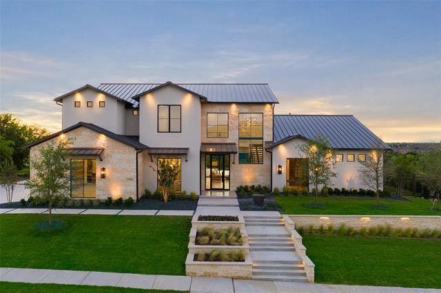 Frisco, TX modern home exterior