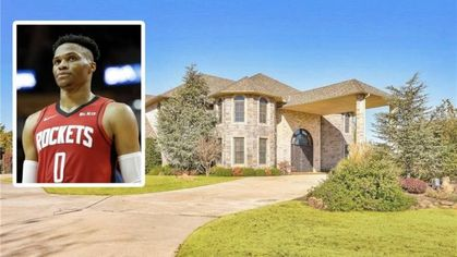 Russell Westbrook Lists His Larger Oklahoma Mansion for $1.7M