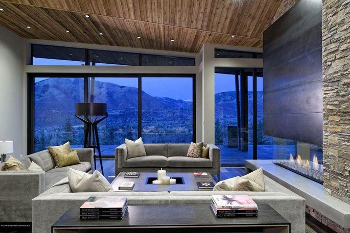 Newly built mountain estate