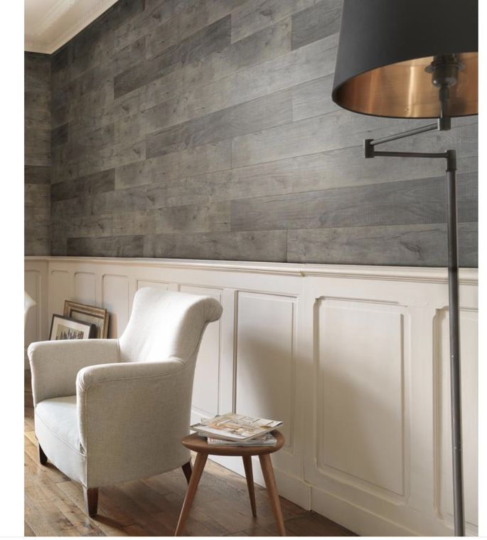 These easy-to-install wall panels come in three tones.