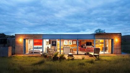 Sleek Shipping Container Home Looking for a Place to Put Down Roots