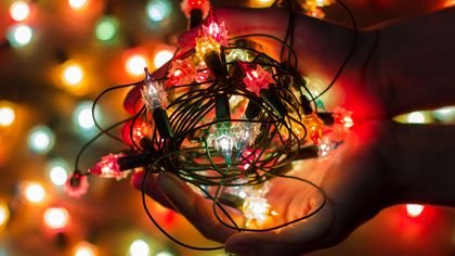 The Best (and Totally Free) Ways to Store Christmas Lights