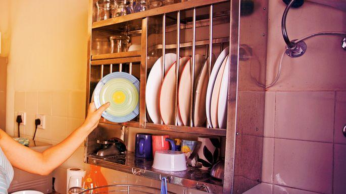 diy-kitchen-dish-drying-rack