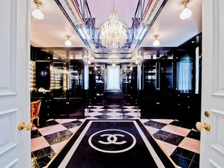 Two-Story, Chanel-Inspired Closet Comes With a $17.5M Mansion in Texas