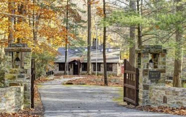"Former Presidential Fishing Lodge ""Trout Run"" Up for Sale (PHOTOS)"