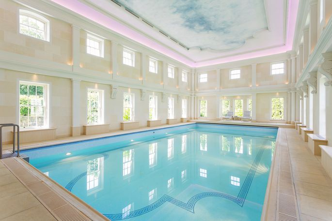 Indoor pool at Fedamore House