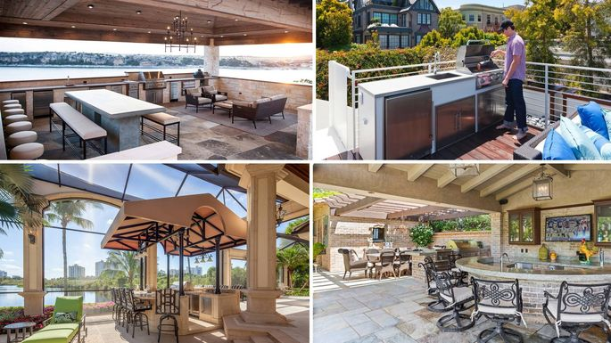 7 Luxurious Outdoor Kitchens Ready For Summertime Eats Realtor Com