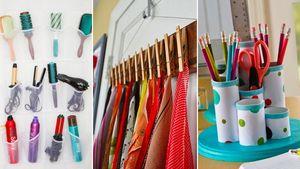 8 Brilliant Home-Organizing Hacks Using Stuff You Already Own