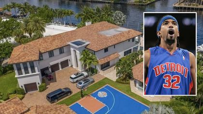 Detroit Pistons Legend Richard Hamilton Selling $8.9MFlorida Mansion