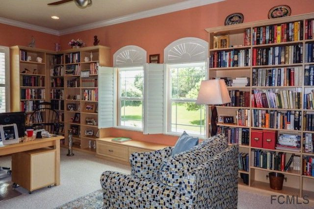 Light and bright library