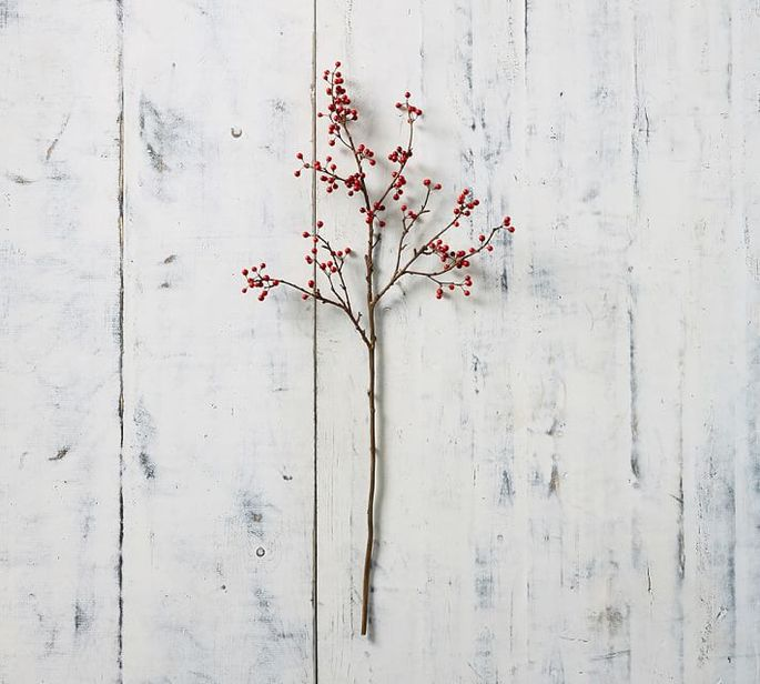 Quality faux branches can be added to fresh flowers all year.