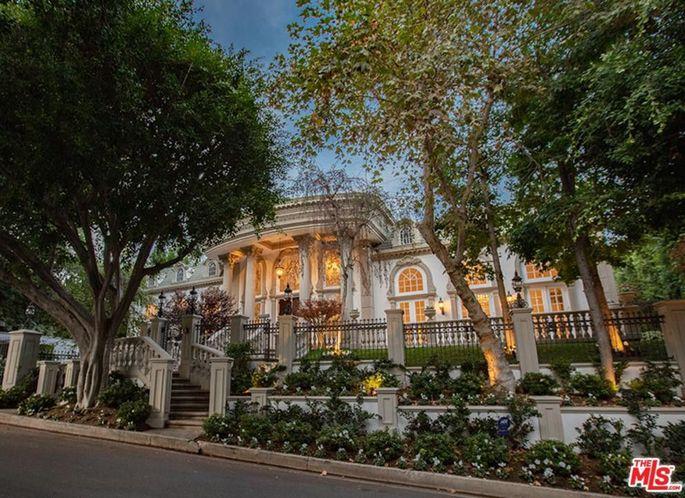 RuPaul's Beverly Hills home