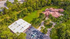 Come Fly Away in This $3.9M Fort Myers Mansion in Private Aviation Community