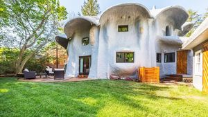Maryland's Wild 'Mushroom House' on the Market Again After Extensive Remodel