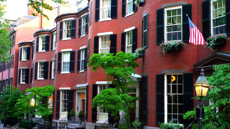Beacon Hill in Boston, MA