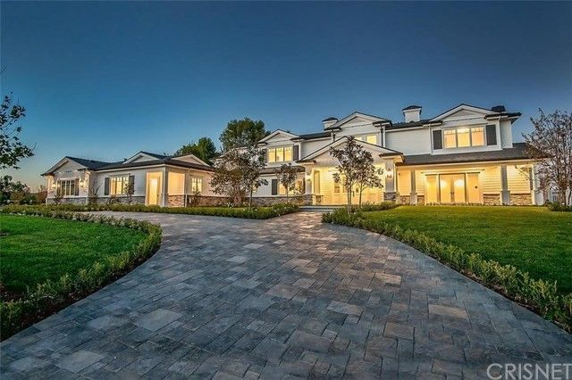Jenner's current home in Hidden Hills