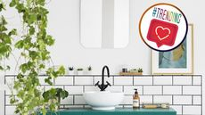 New Year, New Bathroom: 5 Fun Trends on Instagram That Will Make It Your New Favorite Room