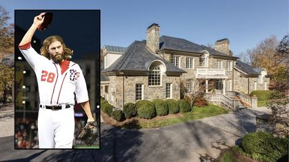 Former Nationals Star Jayson Werth Selling Massive Virginia Estate for $7M