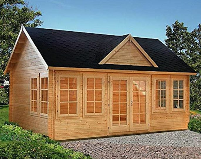 The Allwood Claudia, a 209-square-foot tiny house, is priced at $8,250.