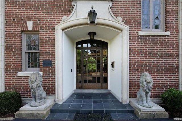 Iron front door