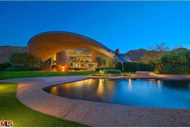 Bob Hope Estate By John Lautner In Palm Springs Lists Publicly Realtor