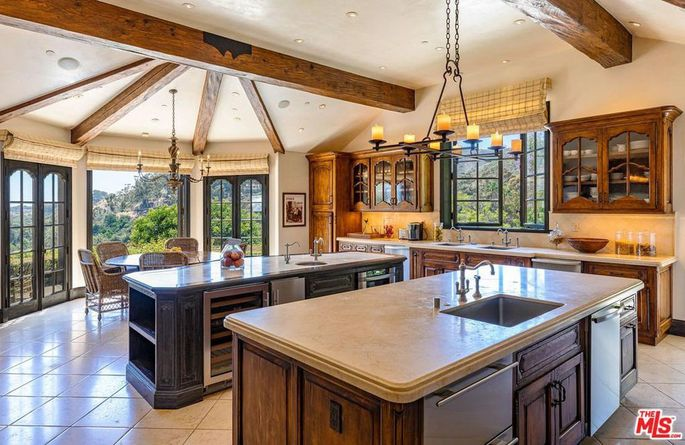 Kitchen designed by Wolfgang Puck