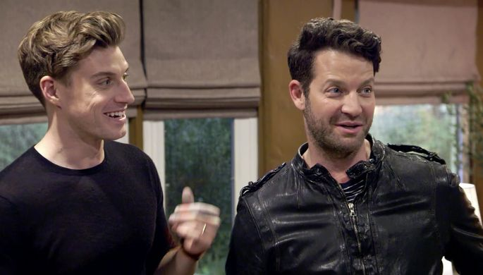 Jeremiah Brent and Nate Berkus cheerfully informed the couple that they'd have to clear out in 48 hours.