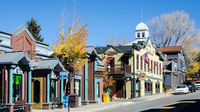 Main Street in Breckenridge, CO